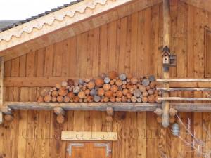 деревяный дом - шале