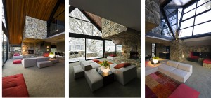 дизайн-интерьера в шале стиле