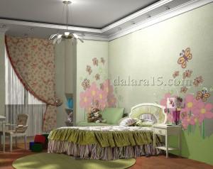 Детская комнаты девочки
