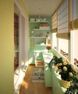 дизайн-проект балкона
