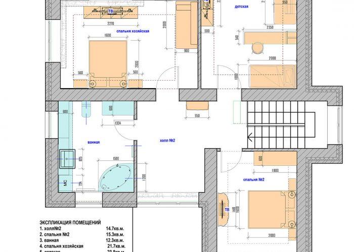 04 мебель 2 этаж _ Макет