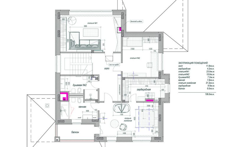 06 мебель 2 этаж _ Макет